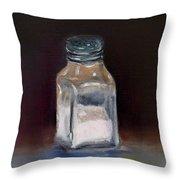 Pink Himalayan Salt Throw Pillow