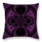 Pink Madness Throw Pillow