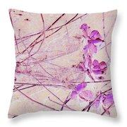 Pink Pastel Throw Pillow
