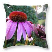 Pink Pedal Throw Pillow