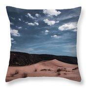 Pink Sand Dunes Np Throw Pillow