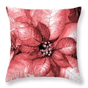 Pink Shimmer Throw Pillow