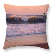 Pink Sky Dawn Throw Pillow