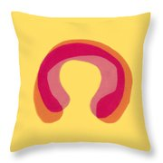 Pink Study Throw Pillow