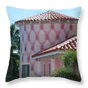 Pink Tower Throw Pillow