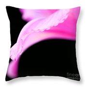 Pink Whisper Throw Pillow