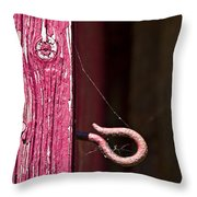 Pinked In Throw Pillow