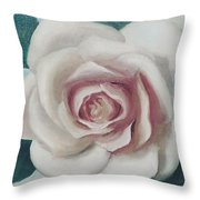 Pinky Flower Throw Pillow