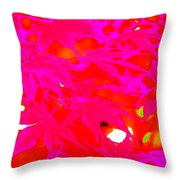 Pinky Red Throw Pillow