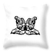 Pinky Swear Graphic Throw Pillow