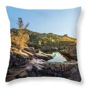 Pinnacles National Park Throw Pillow