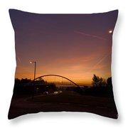 Pinnacles Sunrise Throw Pillow