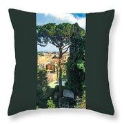 Pinus Pinea Throw Pillow