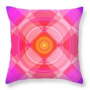 Pinwheel In Motion Throw Pillow