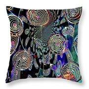 Pinwheels Of Fun Throw Pillow