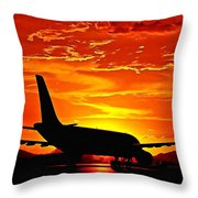 Dream Flight Throw Pillow