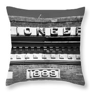Pioneer 1889 Throw Pillow