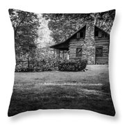 Pioneer Days  Throw Pillow