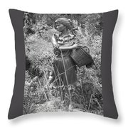 Pioneer Throw Pillow
