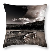 Pioneer History Throw Pillow