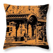 Pioneer Square Pergola Throw Pillow