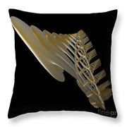 Pipe  Cathedral Throw Pillow