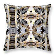 Pipe Hanger Throw Pillow