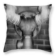 Pipe Throw Pillow