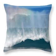 Pipeline Rainbow Throw Pillow