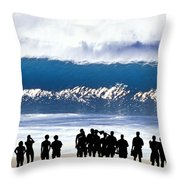 Pipeline Shadowland - 1 Of 3 Throw Pillow