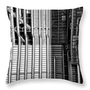 Pipes And Metal - Leeds Throw Pillow