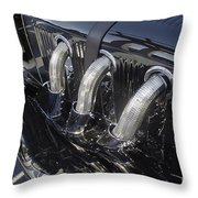 Pipes Of Glory Throw Pillow