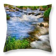 Pipestone National Monument Throw Pillow