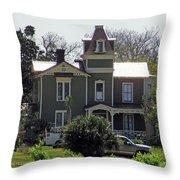 Pippi Longstocking House Throw Pillow