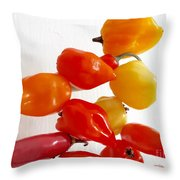Piquant Play 2 Throw Pillow