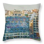 Piraeus, Port Near Athens In Greece Throw Pillow