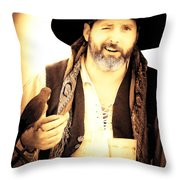 Pirate Mattie Throw Pillow