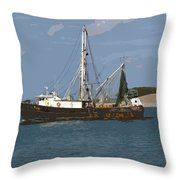 Pirate One Throw Pillow