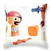 Pirate Play Throw Pillow
