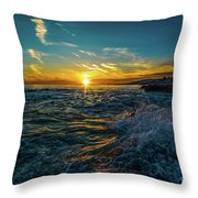 Pirate Tower Throw Pillow