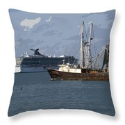 Pirate Two Throw Pillow