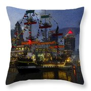 Pirates Plunder Throw Pillow