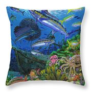 Pirates Reef Throw Pillow