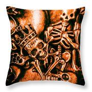 Pirates Treasure Box Throw Pillow