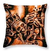 Pirates Treasure Box Throw Pillow