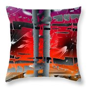 Pire Of Power Throw Pillow