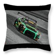 Pirelli World Challenge Jd Davison Nissan Gt R Gt3 Throw Pillow