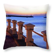 Piriapolis Coast Throw Pillow