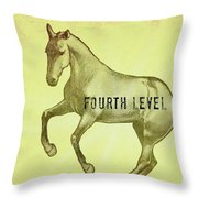 Pirouette Fourth Level Throw Pillow