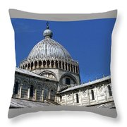 Pisa Cathedral Dome Throw Pillow